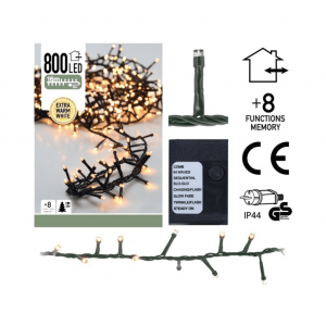 800 LED Kerstboomverlichting